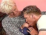 Blond Granny Stella Gets A Real Pounding